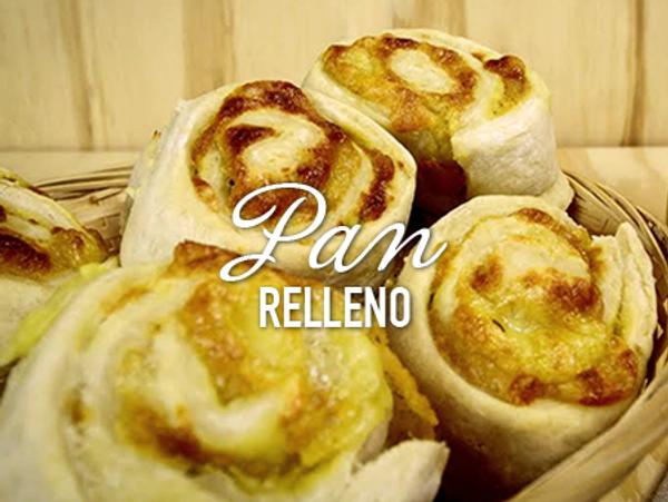 Pan relleno con cheddar