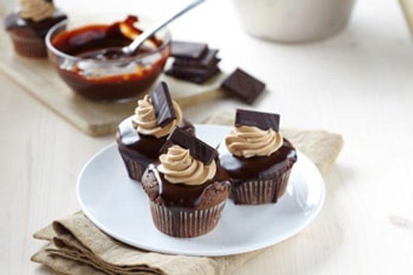 Cupcakes de chocolate sin TACC