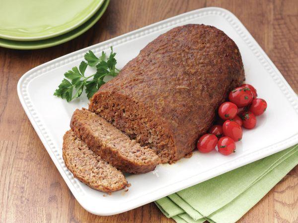 Albondigón o pan de carne picada clásico
