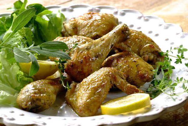 Alitas de pollo marinadas