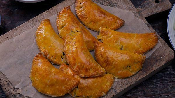 Empadinhas o empanaditas brasileras