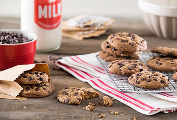 Receta de cookies americanas con chips