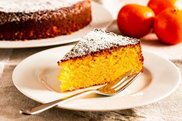 Tarta de mandarina y almendras