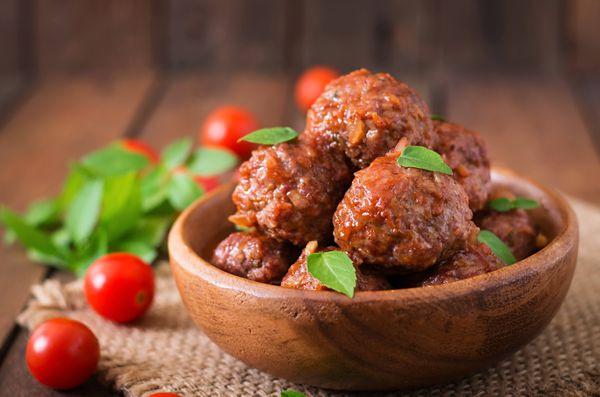 Albóndigas de carne y verduras en 30 minutos