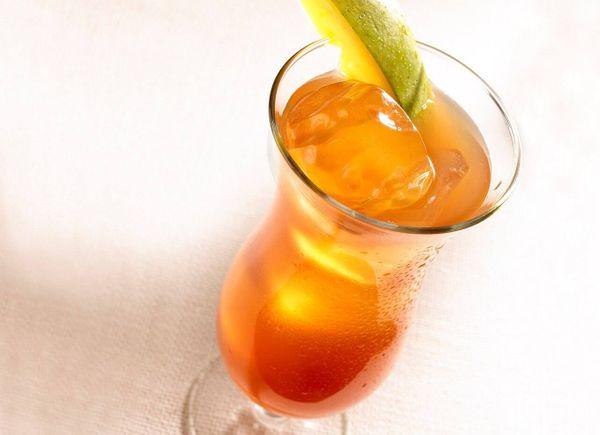 Iced Tea de mango refrescante