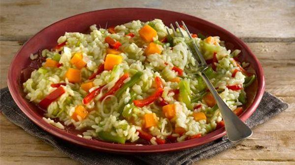 Paella de vegetales