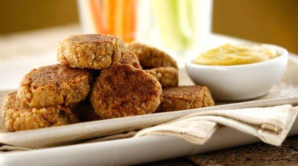 Croquetas de carne con mostaza