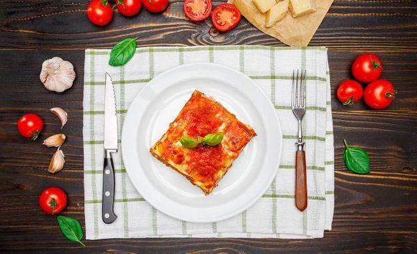 Lasagna al Cheddar