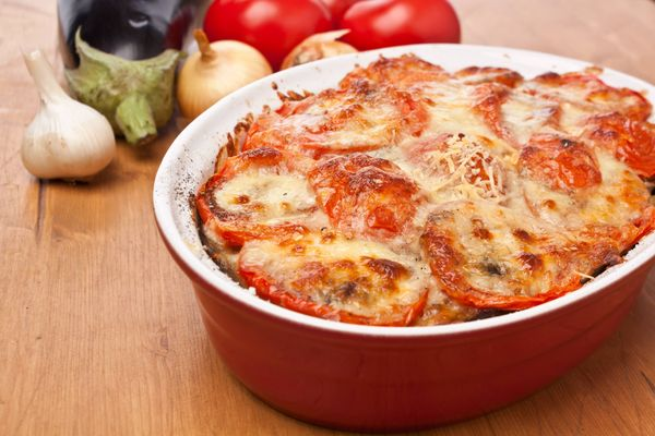 Cazuela de Tomate y Cebollas al horno