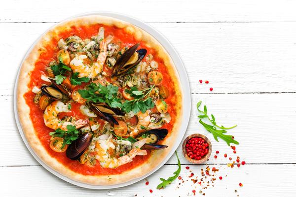 Pizza Marinera Artesanal