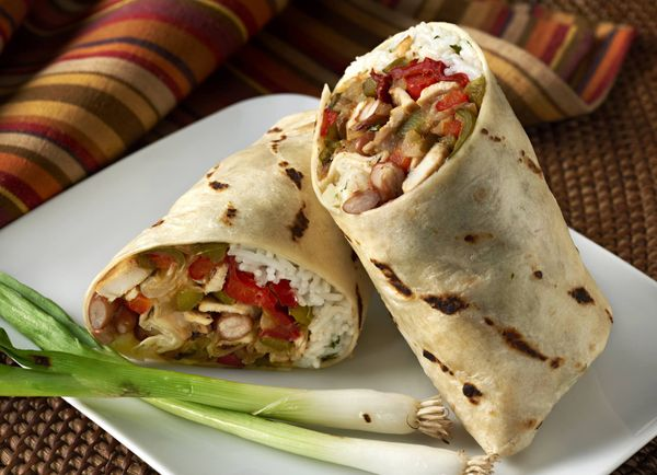 Burrito de Frijoles y Cerdo