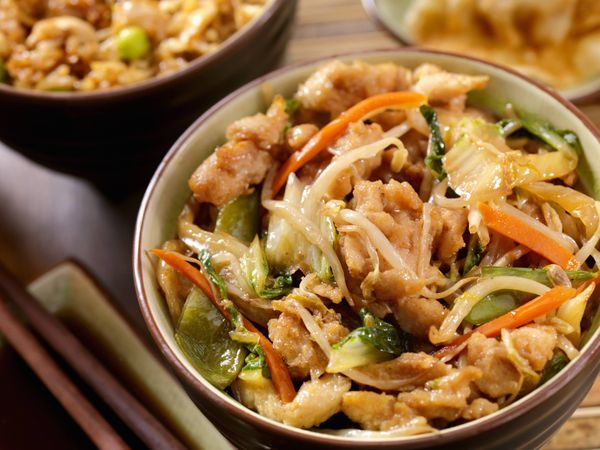 Chop suey de cerdo