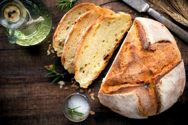 Pan a la parmesana