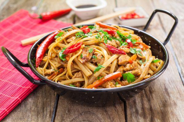 Chow Mein de Vegetales