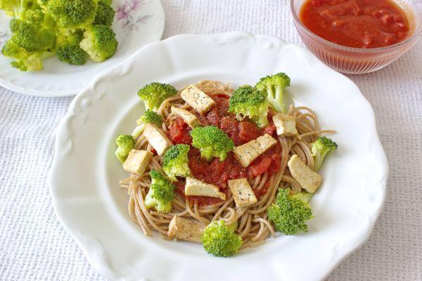Pasta Boloñesa con Brócoli