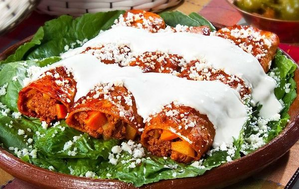 Receita: Enchiladas