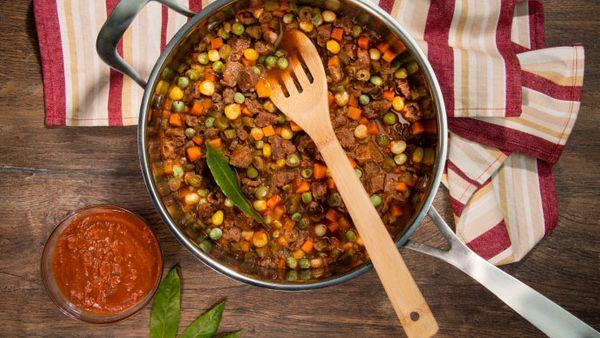 Receta Goulash con Guiso casero Fruco®