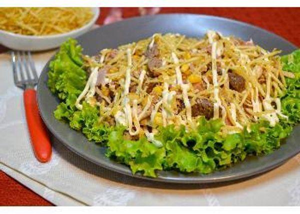 Mazorcada Mixta con Mayonesa Fruco con Ajo