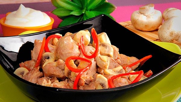 Ternera en salsa de Naranja con Mayonesa Fruco
