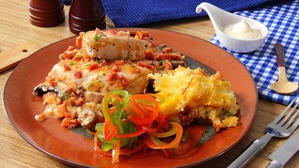 Pollo Fantástico con Mayonesa Fruco