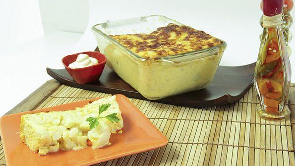 Torta de coliflor Con Mayonesa Fruco