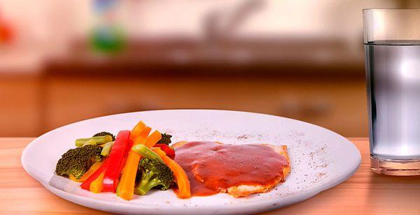 Pollo en Salsa Ligera de Chipotle