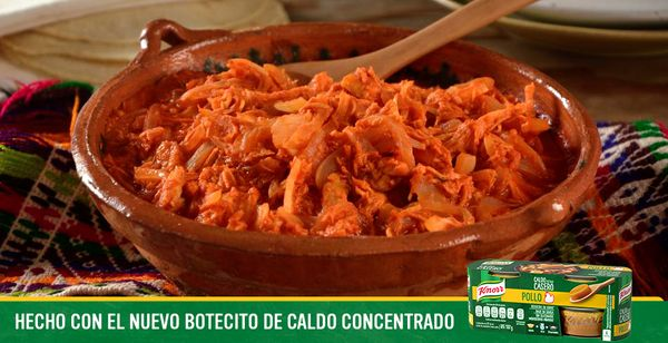 Tinga de Pollo Botecito Knorr®
