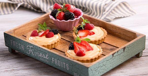 Tartaletas de Frutos Rojos