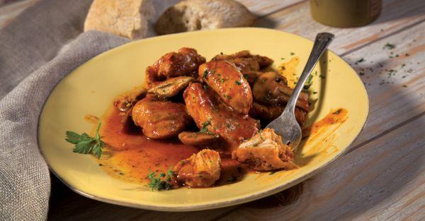 Pollo con Verduras y Hierbas