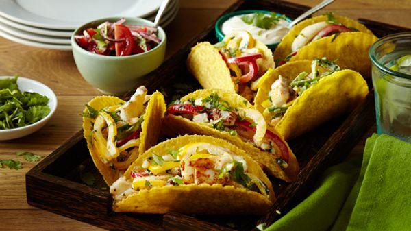 Tacos de Trucha de Salmonada a la Parrilla