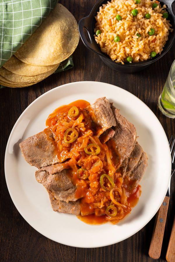 Bistec de Res a la Mexicana