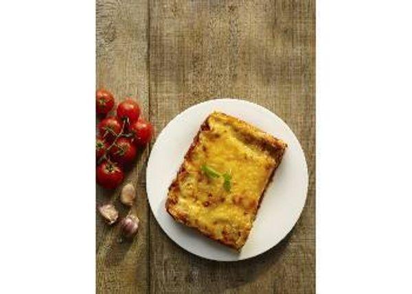 Lasagna de carne y champiñones