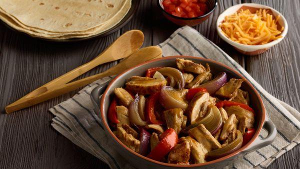 Fajitas de Pollo | 50 Alimentos del Futuro