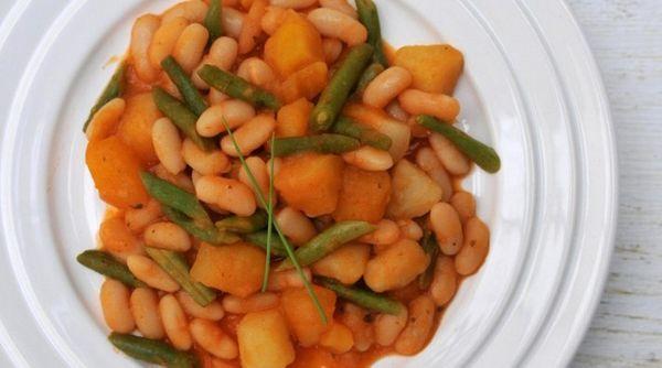 Feijão Branco com Legumes