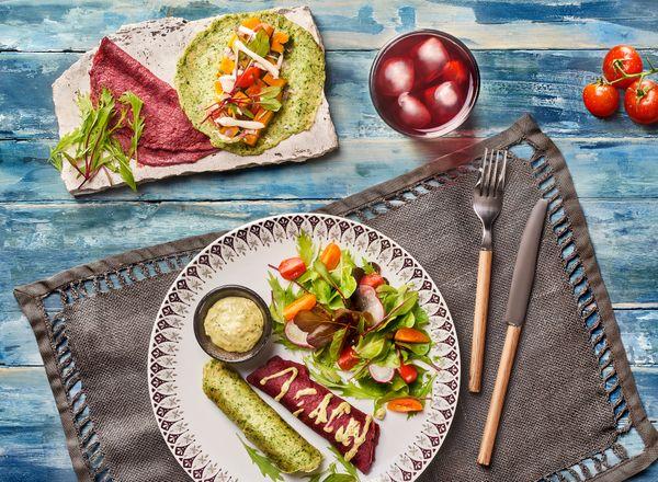 Panqueca de Legumes Vegana