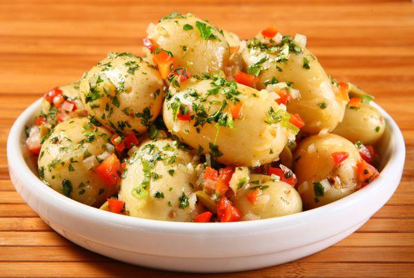 Batata aperitivo quente