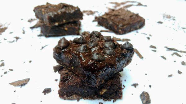 Brownie de Cacau com Farinha de Coco Orgânica Mãe Terra