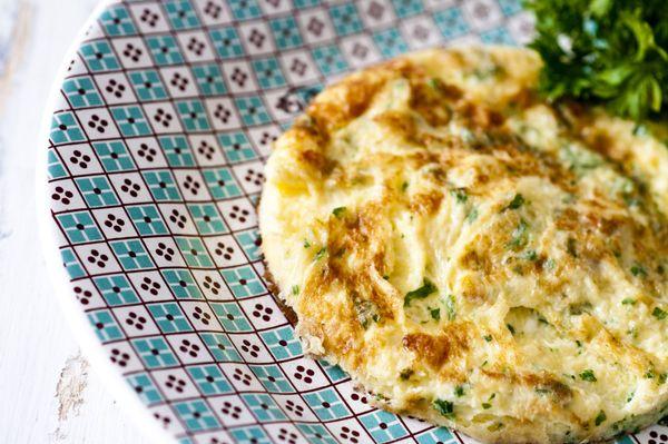 Omelete baveuse