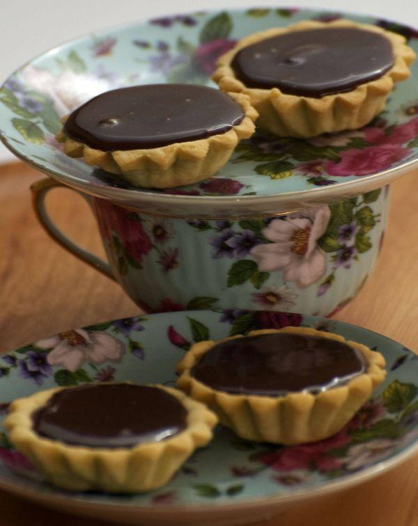 Tarteletes de chocolate