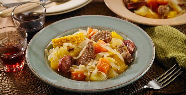 Cozido de Carne com Legumes