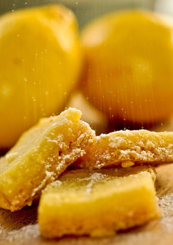 Barrinhas de limão siciliano