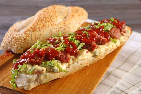 Sanduíche De Linguiça Apimentada
