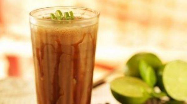 Frappuccino com Limão e Chocolate Zero Açúcar