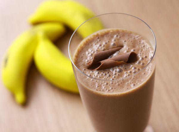 Shake de Chocolate com Banana