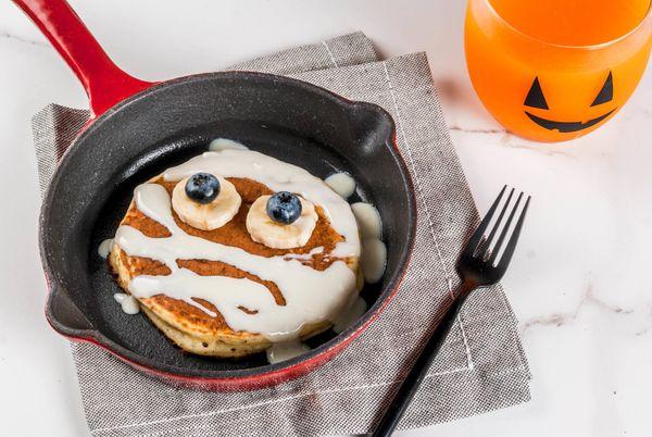 Panqueca Doce de Halloween