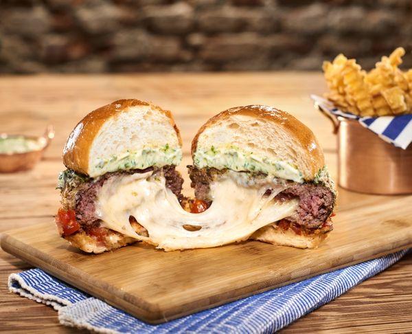 Hambúrguer Parmegiana