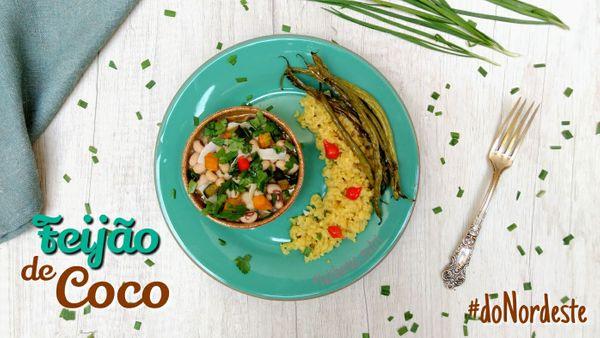 Feijão de Coco com Legumes
