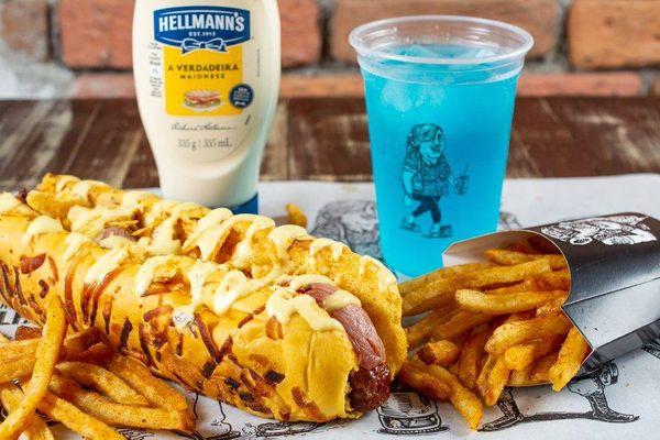 Hot Dog Hellmann's