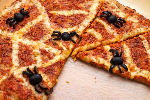 Pizza Caseira das Bruxas