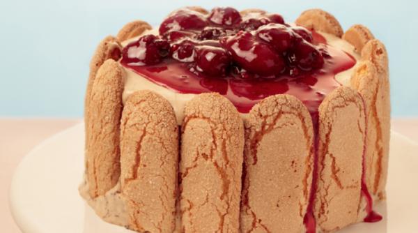 Torta Charlote de Tablito